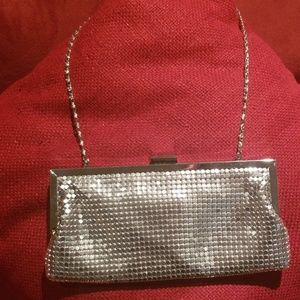 Style &Co metallic clutch